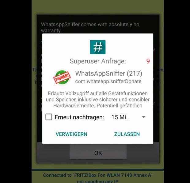 Cara Hack WhatsApp Orang Lain Lewat Aplikasi WhatsApp Sniffer 2019