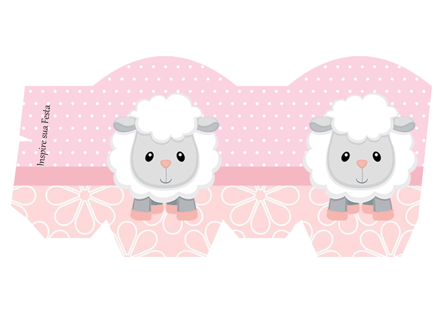 Baby Lamb in Pink: Free Printable Boxes and Free Party Printables ...