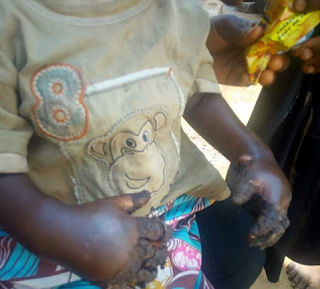 ee - Photos: Housewife docked in Abuja for dipping hands of her 2-year-old step son in boiling water
