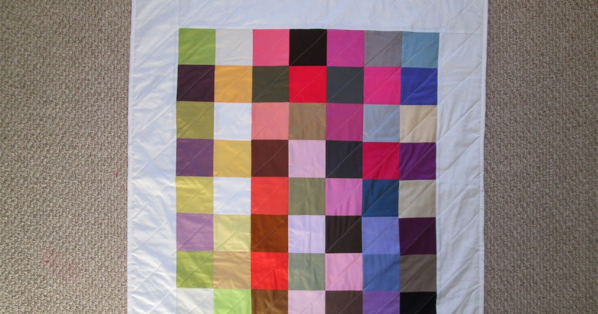 threads and thoughts and things i love: Rainbow Baby Quilt