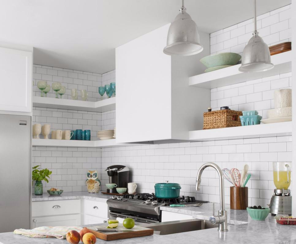 Utilizing Ceramic Wall For Simple Kitchen Design and Cantikpinterest.com