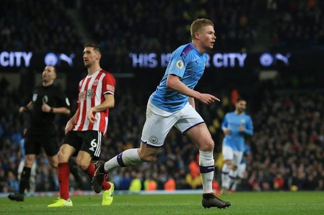 Man City beats Sheffield United