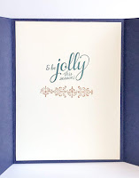 Stampin' Up! Brightly Gleaming Extended Gate Fold Christmas Card ~ 2019 Holiday Catalog ~ www.juliedavison.com