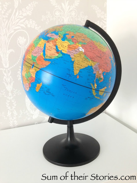 old globe ready for a makeover