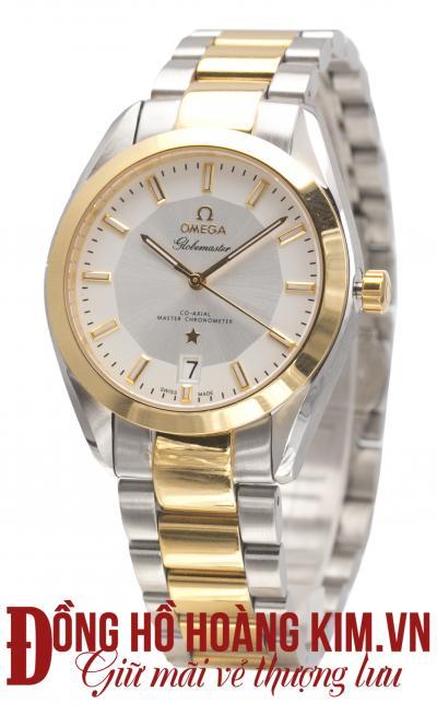 đồng hồ nam dây thép omega chính hãng