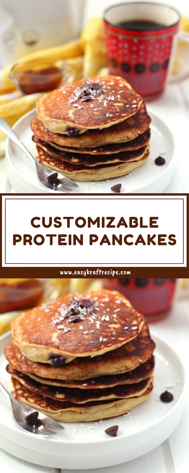 CUSTOMIZABLE PROTEIN PANCAKES