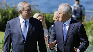 Premiê da Austrália  defende assentamentos de Israel