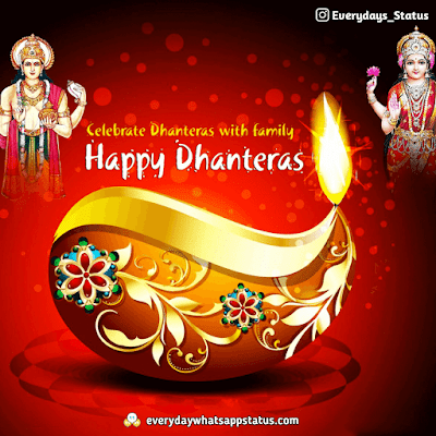Dhanteras Images | Everyday Whatsapp Status | FREE UNIQUE 50+ happy Dhanteras Inages Download