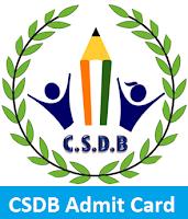 CSDB Admit Card