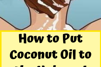 How to Put Coconut Oil to the Hair and Stop Premature Hair Graying, Thinning, and Falling