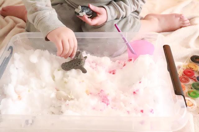 activité d'hiver pour enfant