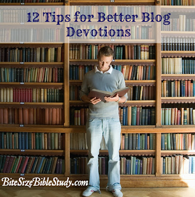12 writing tips for devotions