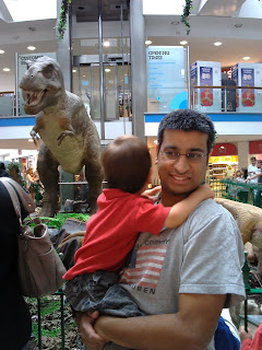 Seeing the dinosaurs in Brighton