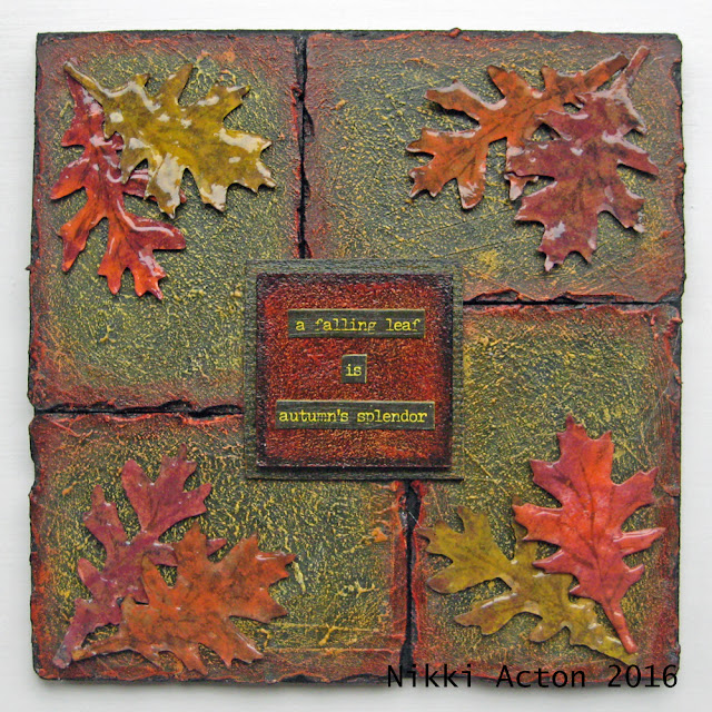 Autumn Leaves Nikki Acton for Simon Says Stamp