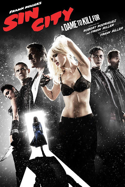Poster of (18+) Sin City 2: A Dame to Kill For (2014) Dual Audio [Hindi-English] 720p BluRay ESubs Download