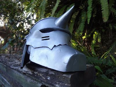 Fullmetal Alchemist Alphonse's Helmet cosplay