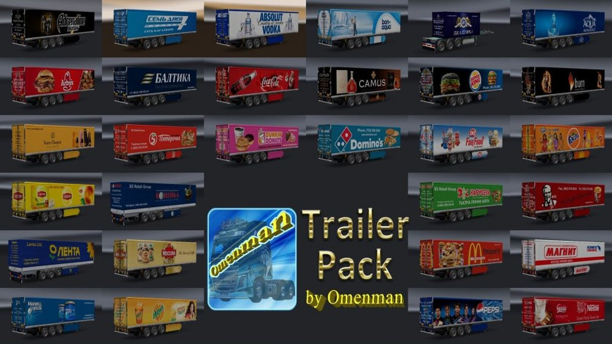 Foods Trailers Pack v 1.03.00