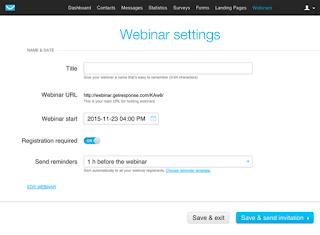 Getresponse Webinar