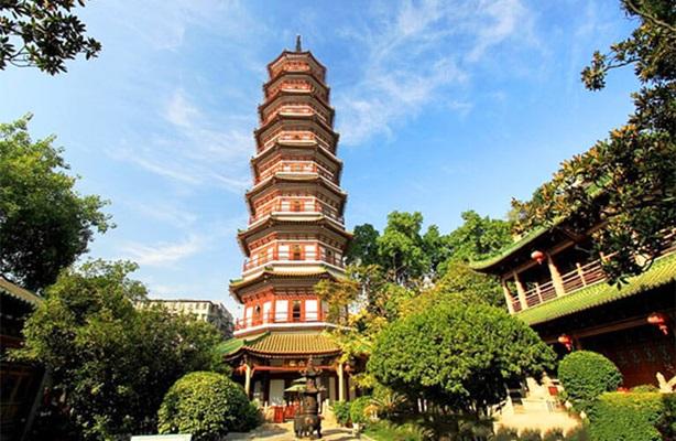 วัดลิ่วหรง (Liurong Temple) @ www.chinadiscovery.com