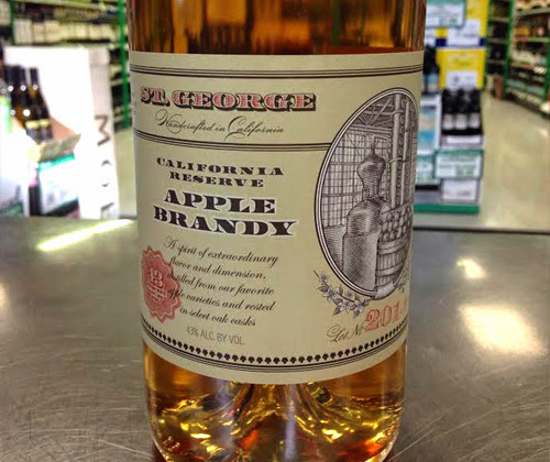 St. George California Reserve 2014 Apple Brandy