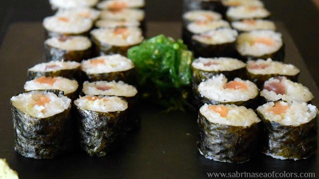 Arroz para sushi y hosomakis