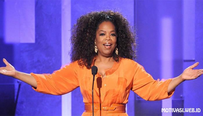 Kiash Motivasi Oprah Winfrey - Wanita Luar Biasa