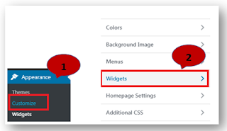 Integrate widget on wordpress