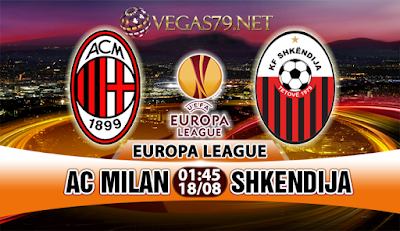 Nhận định, soi kèo nhà cái AC Milan vs Shkendija