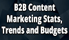 B2B Content Marketing Stats, Trends and Budgets #infographic