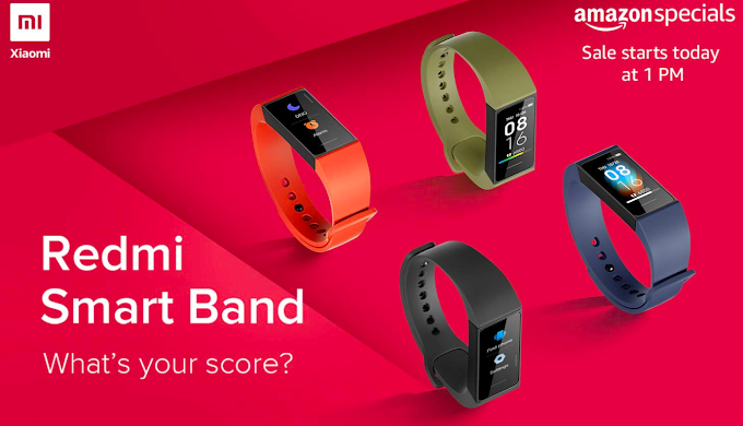 Redmi Smart Band (Sale September 9); Price 1599, Features, Specs
