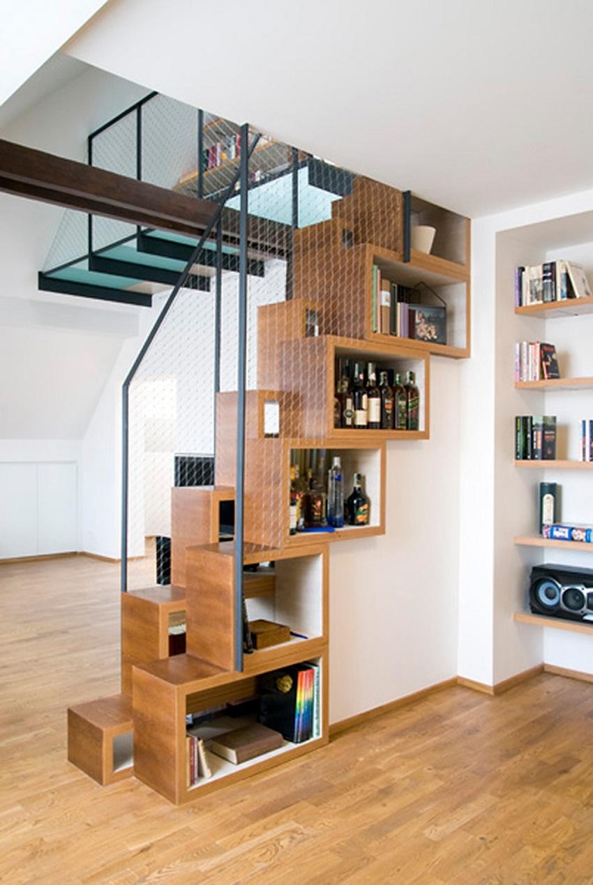 Marzua escaleras para espacios peque os for Escaleras modernas para espacios pequenos