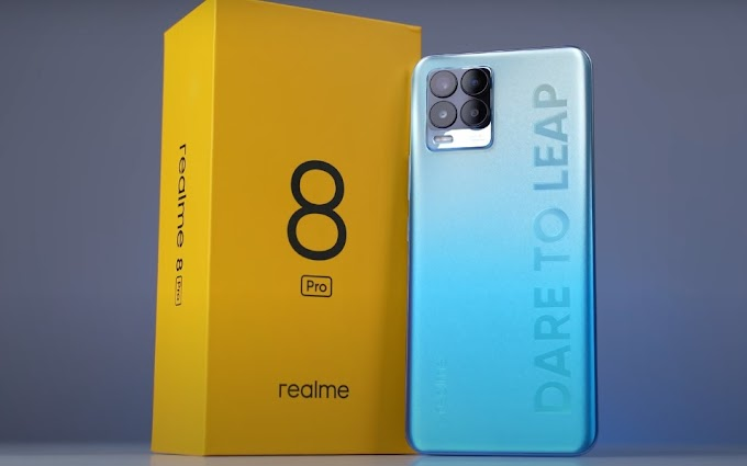 Sorteio de 108 Smartphones Realme 8 Pro