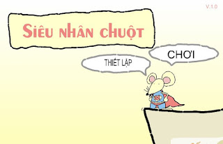 Game siêu nhân chuột siêu hài hước