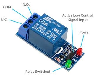 gambar skema modul relay arduino