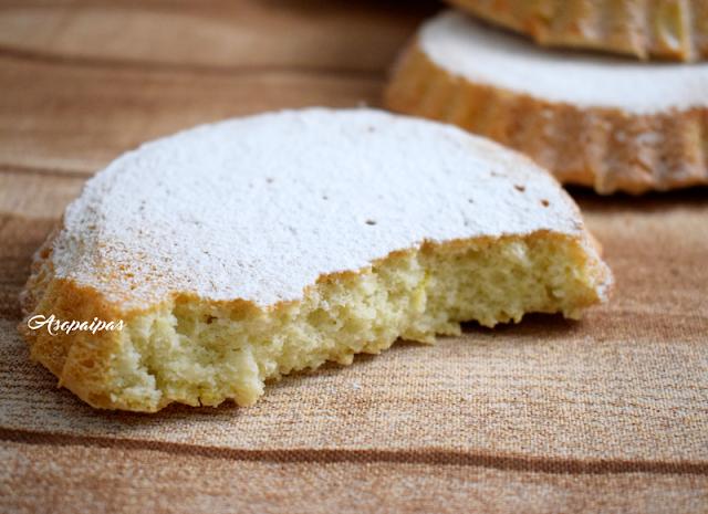 Pasteles de Almendra y Limón. Vídeo Receta