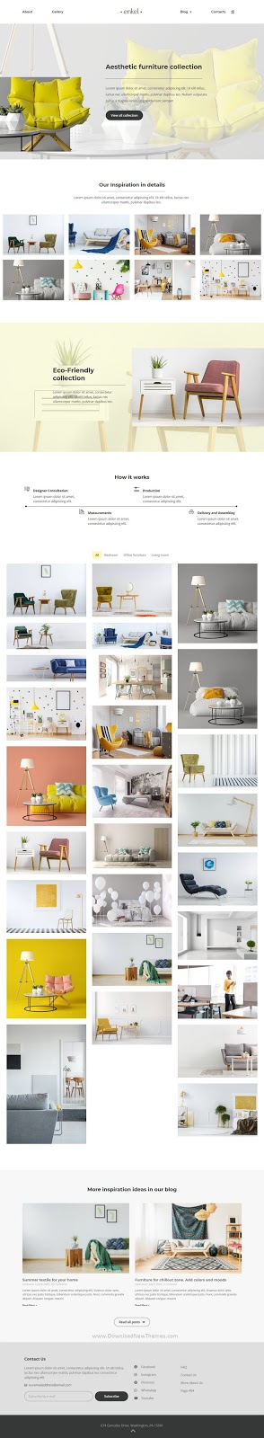 Furniture Company Template