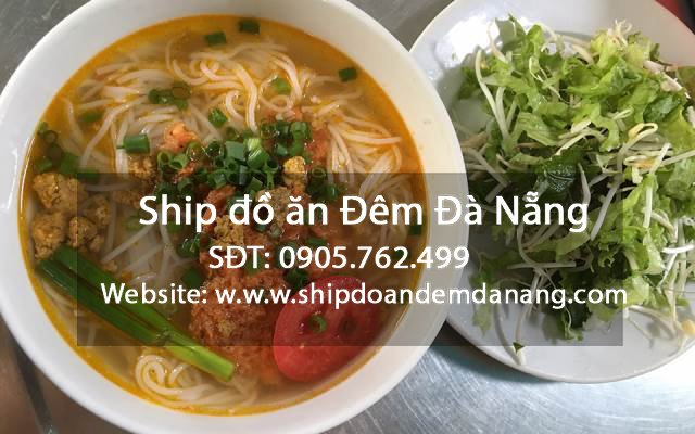 Bun rieu cua - Ship do an dem Da Nang
