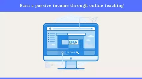 Earn a passive income through online teaching in Pakistan