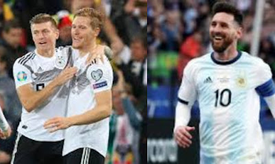 مباراة ألمانيا والأرجنتين اون لاين