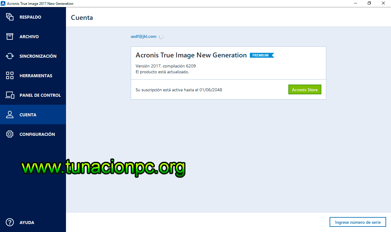 Acronis True Image 2017 Final New Generation