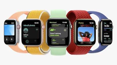 एपल वॉच की 7 सीरीज़ लॉन्च