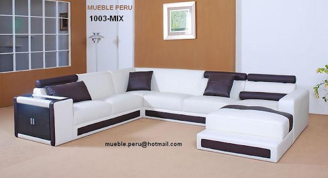 Muebles pegaso muebles de sala seccionales en cuero for Muebles de sala de cuero