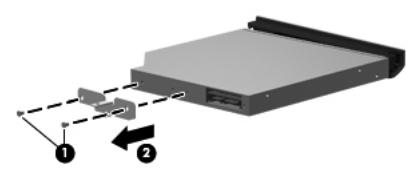 Remove the optical drive Compaq Presario CQ32 HP G32