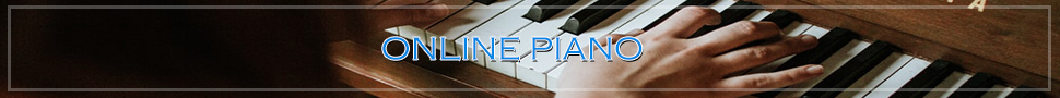 play piano online for letter Notes