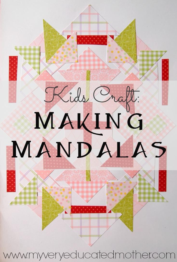 Kids Craft: Making Mandalas