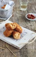 Croquetas de pollo y chorizo