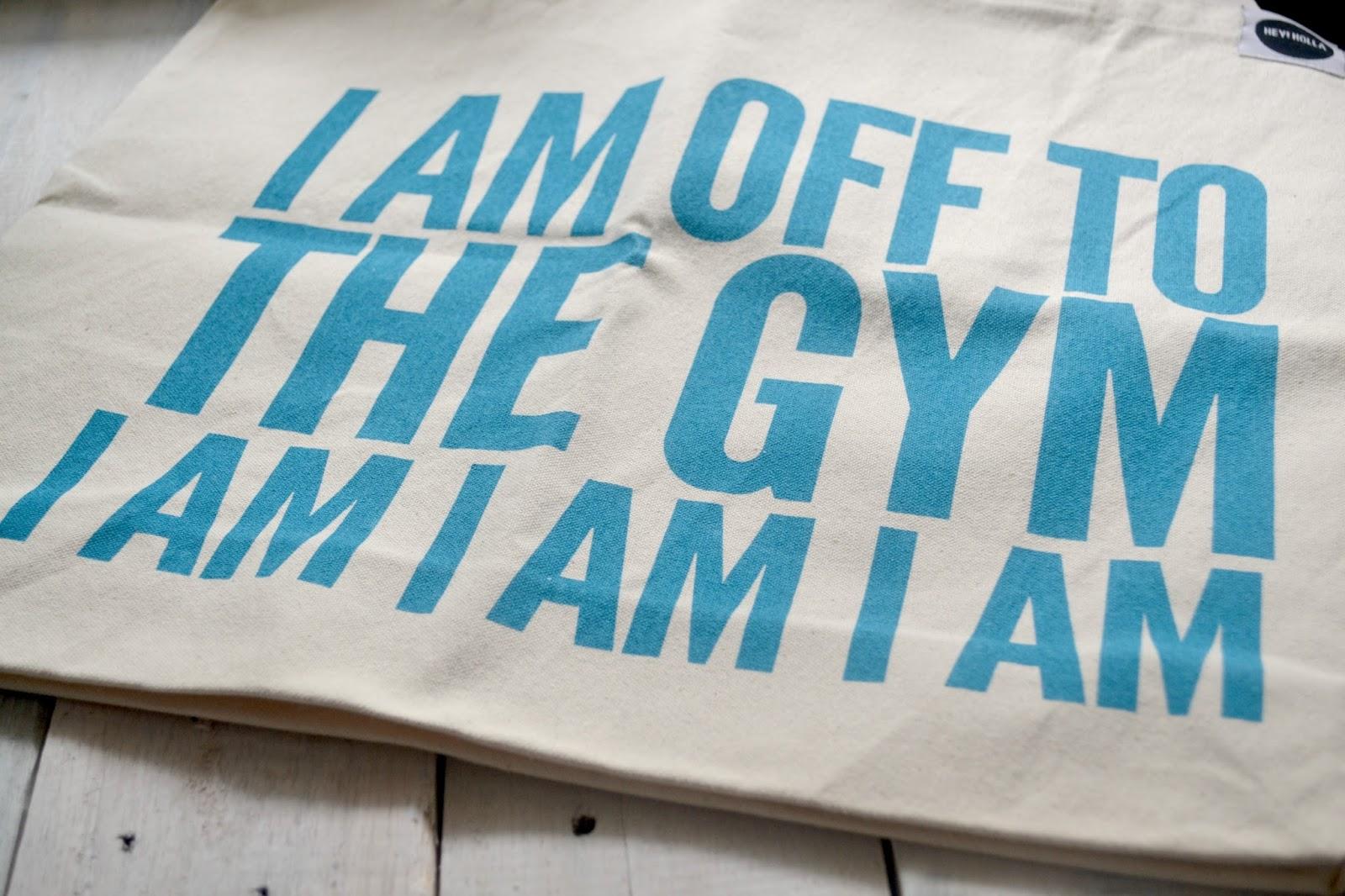 Hey! Holla Gym Bag