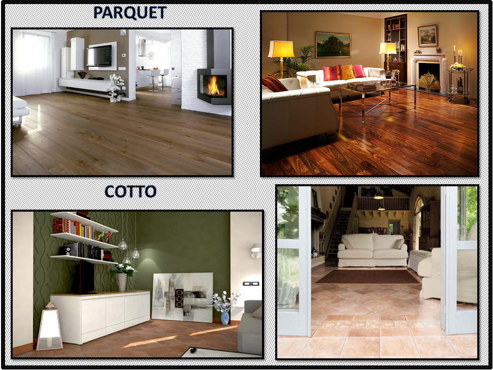 Abbinare il pavimento alle stanze parte i gena design for Enormi isole di cucina