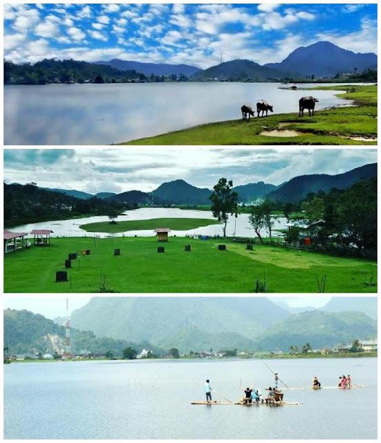 Danau Ajaib di Sumbar yang Bisa Menghilang