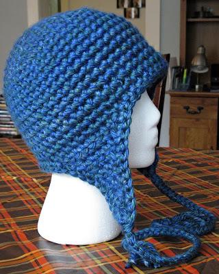Basic Earflap Hat Pattern Free Crochet Crafty Ideas Free Pattern